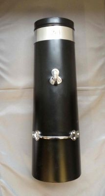 """18"""" Double skin chimney with chrome band"""