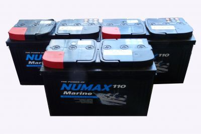 3 x 110amp Leisure batteries COLLECT ONLY