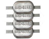 4 x 2.5kg Anodes Magnesium