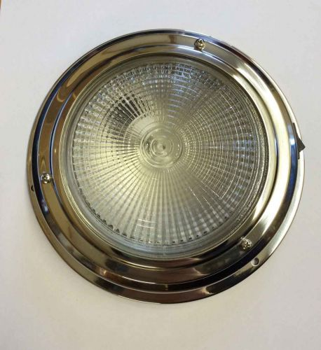 12v Switched stainless domelight