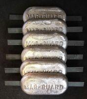 6 x 2.5kg Magnesium Anodes