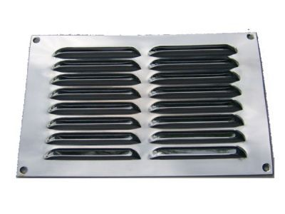 Chrome 9 x 6 grill
