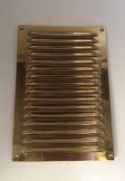 9 x 6 vertical brass grill/vent