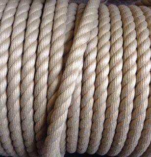 14mm Buff/natural Rope