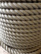 25mm Natural colour Rope