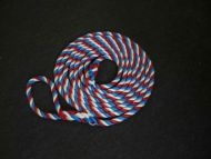 6m Red, blue and white 14mm Rope