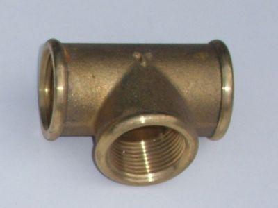 Brass 3/4 tee