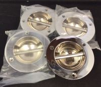 Set of 4 Chrome Fender Eyes