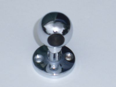 35mm high Chrome curtain pole end