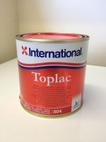 International Toplac Fire Red 504