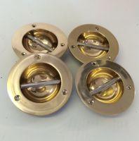 Set of 4 Brass Fender Eyes