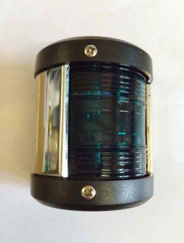Navigation light Green - chrome edge