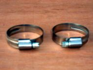 10 to 16mm hose clips