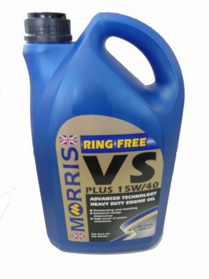 Morris Ring free VS 15w/40 5ltr.