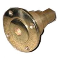 brass pump out fitting