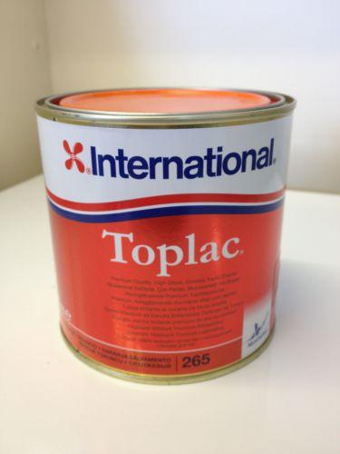 International Toplac Rescue Orange 265