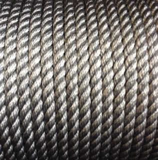 12mm Silver Polyprop Rope