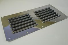 stainless steel louvred vent